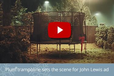 john lewis advert plum trampoline